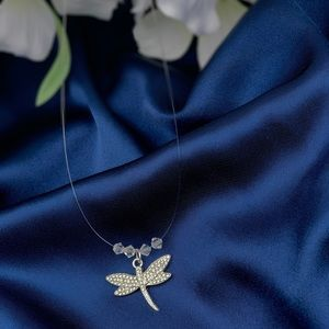 Jewelry - Dragonfly Transparent Necklace